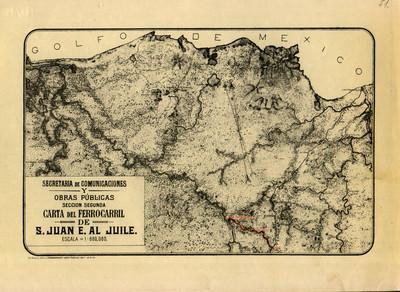 Carta del Ferrocarril de S. Juan E. al Juile