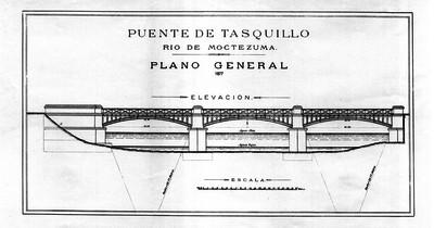 Puente de Tasquillo. Río de Moctezuma