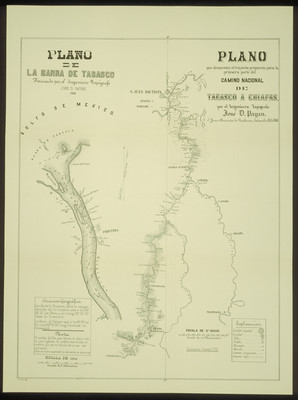 Plano de la Barra de Tabasco
