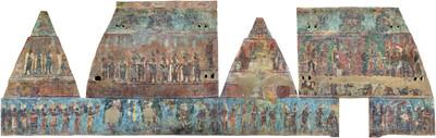 Cuarto 1, Templo de las pinturas, Bonampak
