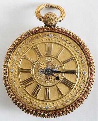 Reloj de bolsillo con llave