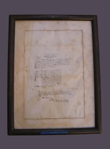 Fe de bautismo de Miguel Hidalgo