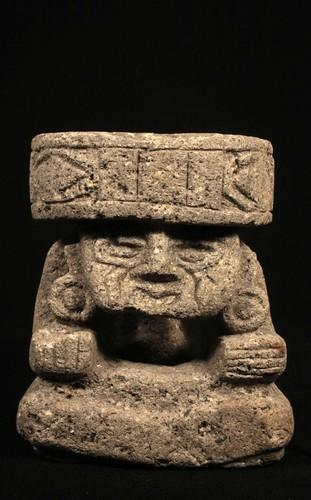 Escultura de Huehuetéotl