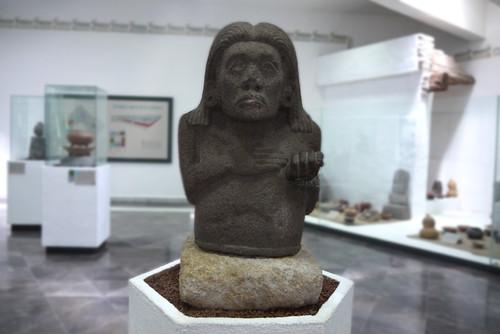 Escultura de un Xochicalca