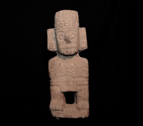 Escultura de Tláloc dios de la lluvia