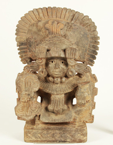 Escultura antropomorfa masculina