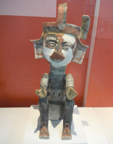 Xantil que representa al dios Quetzalcóatl