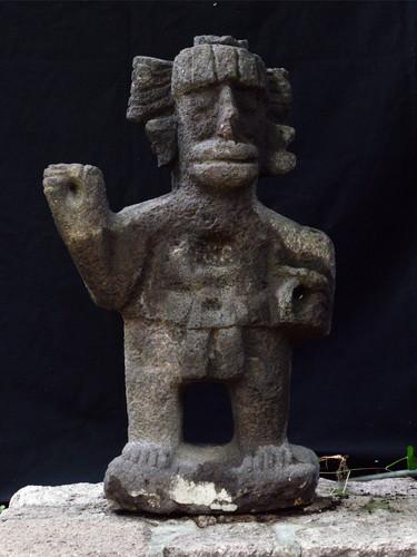Escultura del dios Ehécatl