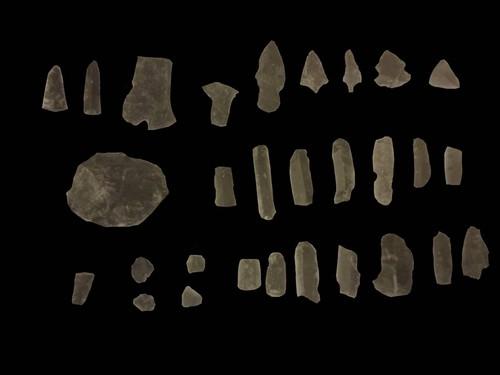 Artefactos de obsidiana