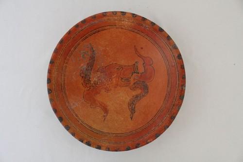 Plato con cabeza de pecarí