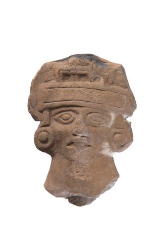 Cabeza de figurilla tipo mazapa