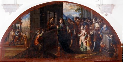 San Ignacio preso en la cárcel de Alcalá de Henares
