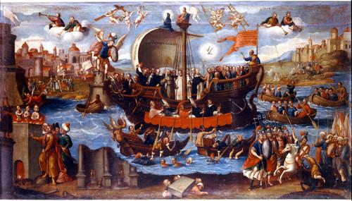 El triunfo de la Iglesia