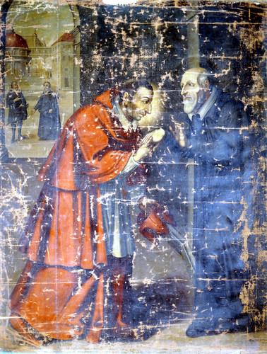 Encuentro de san Felipe Neri y san Carlos Borromeo