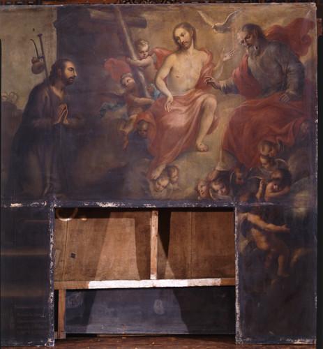 Dios manifiesta a san Ignacio el misterio de la Santísima Trinidad