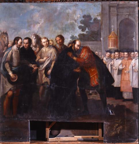 Vuelve san Ignacio a su patria y es recibido como santo