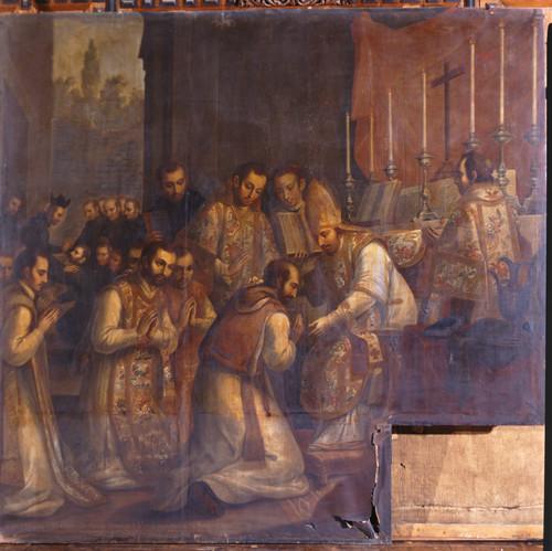 Recibe san Ignacio a sus compañeros y se ordenan sacerdotes