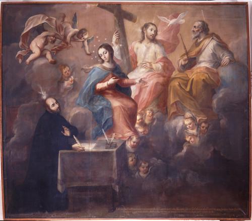 San Ignacio escribe las Constituciones