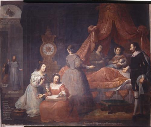 Nacimiento de san Ignacio y profecías que le precedieron