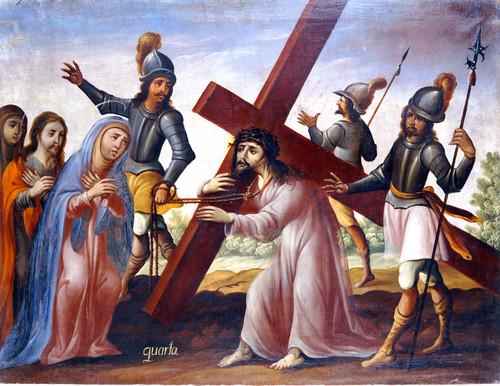 Jesús encuentra a su madre
