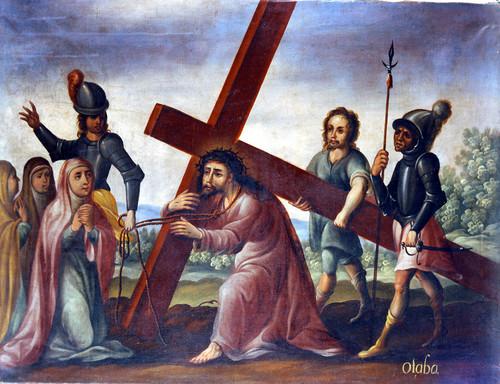 Jesús consuela a las Santas Mujeres