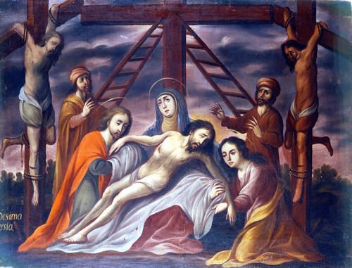 El descendimiento de Cristo de la cruz