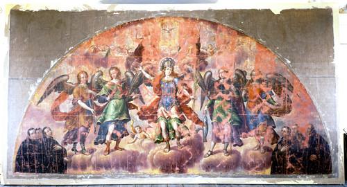 Alegoría de los arcángeles y la orden jesuita