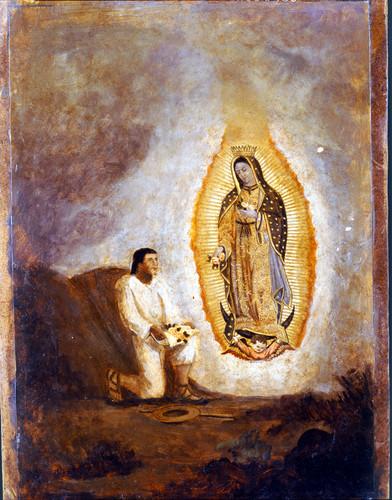 Tercera aparición de la Virgen de Guadalupe a Juan Diego