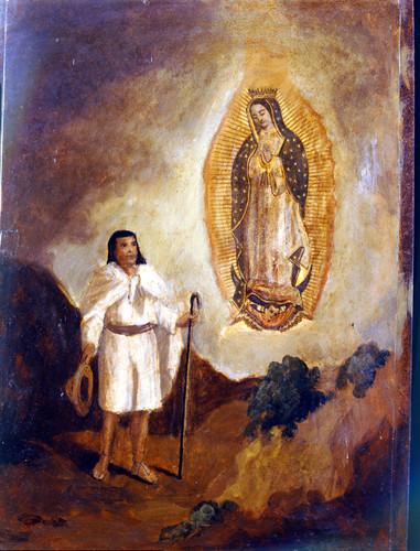Primera aparición de la Virgen de Guadalupe a Juan Diego