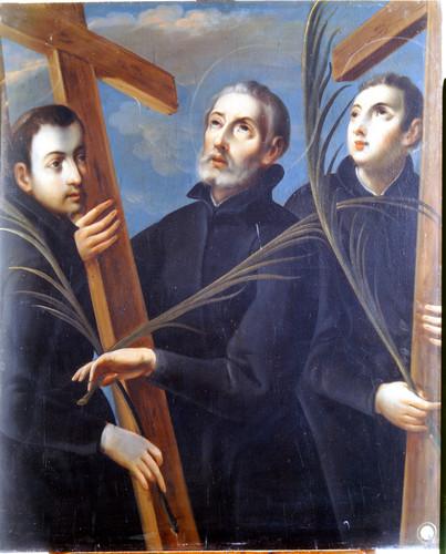 Santos mártires jesuitas: Juan Goto, Diego Kisai y Pablo Miki