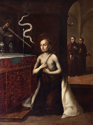 San Juan de la Cruz y el Cristo de Segovia