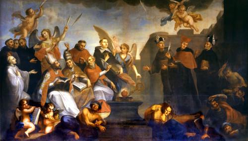 Alegoría de la Defensa de la Inmaculada Concepción