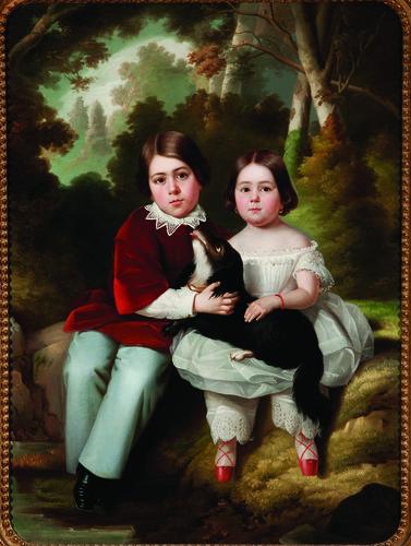 Niños Pepe y Julia Iglesias Calderón