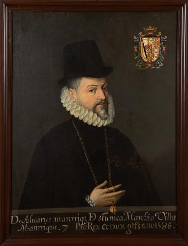 Virrey Álvaro Manrique de Zúñiga