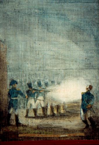 Fusilamiento de Agustín de Iturbide
