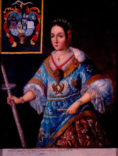 Doña Juana María Cortés y Chimalpopoca