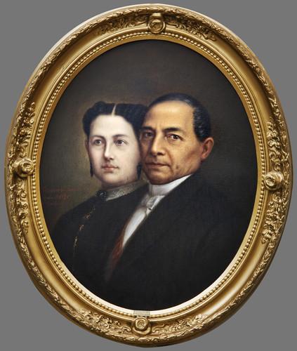 Benito Juárez y Margarita Maza