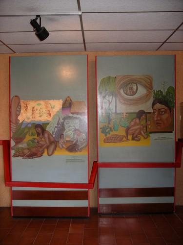 Pintura costumbres chichimecas