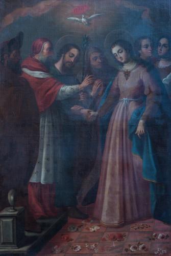 El desposorio de la Virgen