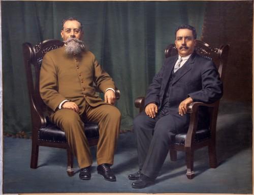 Venustiano Carranza e Ignacio Luis Pesqueira