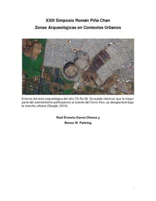 Áreas y zonas arqueológicas en el sureste de la Cuenca de México, Chalco, Los Reyes, Ixtapaluca y Chimalhuacán