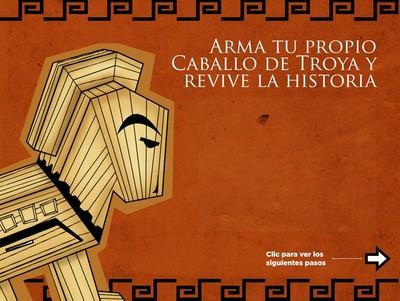 Arma tu propio caballo de Troya y revive la historia