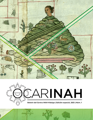 OcarINAH. Boletín del Centro INAH Hidalgo