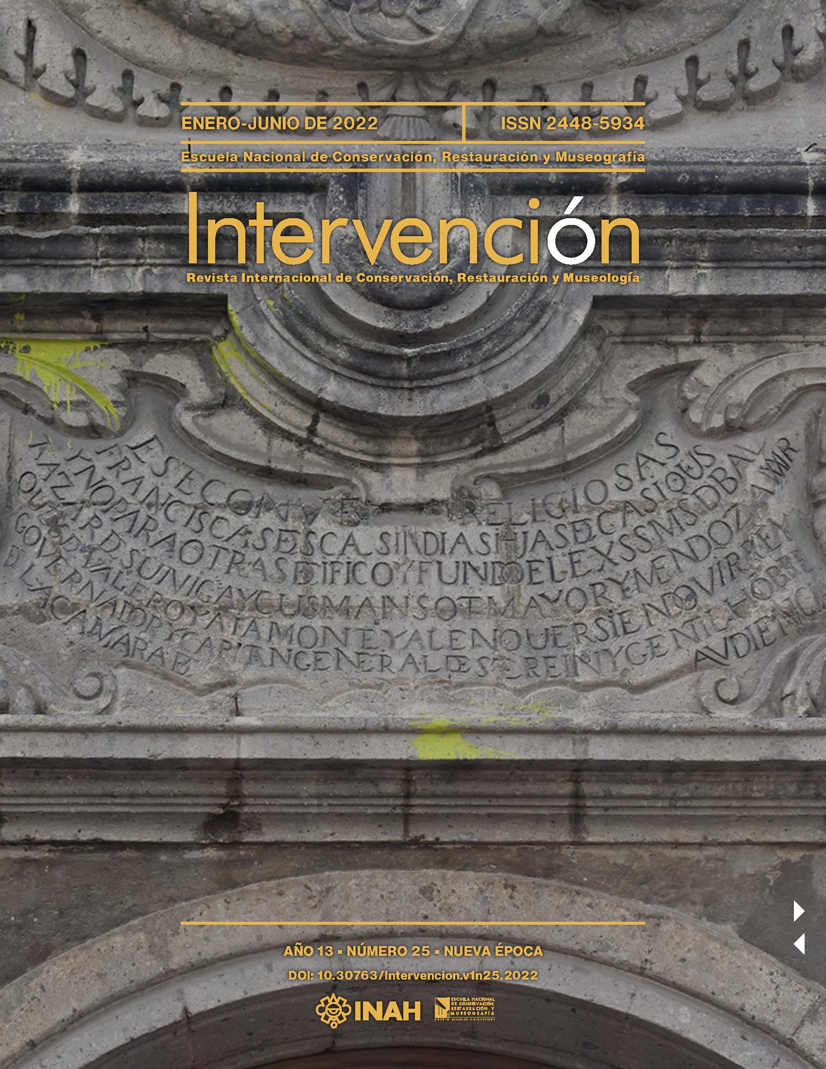 Intervención. Revista Internacional de Conservación, Restauración y Museología