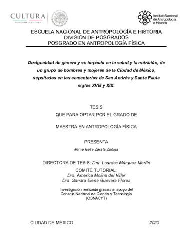Desigualdad de género y su impacto en la salud y la nutrición en un grupo de hombres y mujeres de la Ciudad de México