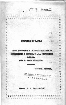 Artefactos de Tlatilco