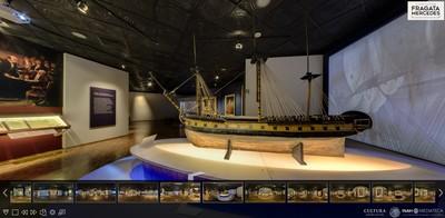 Exposición temporal El último viaje de la fragata Mercedes