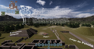 Tour Virtual de la Zona Arqueológica de Tingambato