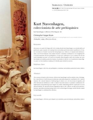 Kurt Stavenhagen, coleccionista de arte prehispánico
