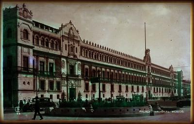 Palacio Nacional, exterior, vista lateral